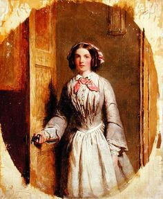 William Powel Frith - 'Did you ring, Sir?'