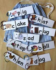 Word Family Flip Books - Grades k-1 -