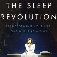 Incredible new book on how to take better care of yourself by my friend @ariannahuff on the science of sleep and why we're so stressed. Must read #sleeprevolution #sleep