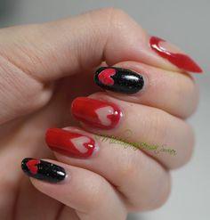 Mielenmaisemia: Will you be my valentine? #ablecs15 #nails #nailart
