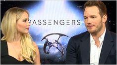 """Chris Pratt ('Passengers'): """"Quería estar en forma porque sabía que iba a salir desnudo en la ducha"""""""