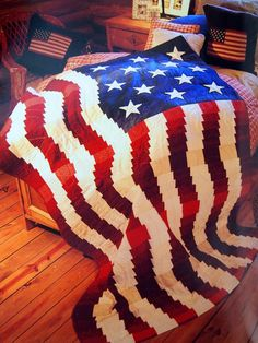 Great American Quilts Book Ten By Leisure Arts Quilting Book 2003 American Flag Quilt