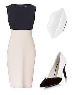 When it comes to monochrome, go full mono or go home. We heart the clean lines of the two-tone Zara dress and New Look heels for a chic look without even trying. Even the classic red Lulu Guinness clutch gets the mono treatment too as it goes all white for the summer.Dress, £49.99, ZaraClutch, £245, Lulu GuinnessShoes, £19.99, New Look  -Cosmopolitan.co.uk