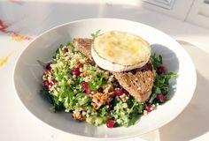 Salát jako z pohádky Bulgur, rukola, granátové jablko ... | KITCHENETTE