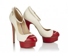 Runaway Bride by Charlotte Olympia, Wedding Shoes with Super Cool Edge…