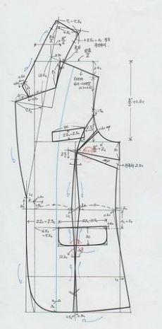 """DIY Royal Crown in """"luffarslöjd"""" - Step-by-Step Tutorial Skirt Patterns Sewing, Coat Patterns, Clothing Patterns, Techniques Couture, Sewing Techniques, Pattern Draping, Sewing Blouses, Jacket Pattern, Blazer Pattern"""
