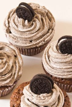 Muffin Galaxy: CUPCAKES DE CHOCOLATE Y OREO