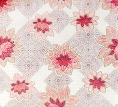 Wallpaper Lotus -Like the vintage look of this paper