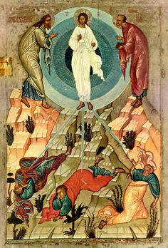Russian Icon of the Transfiguration, Pinned from today's post by Dorothy B G to her Google+ Collection, 'Iconography, Romanesque Art & Manuscripts (Western & Eastern Christianity Masterpieces)' at   https://plus.google.com/+DorothyBG/posts/QZG7MugG7w3