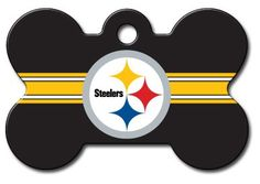 Officially Licensed NFL Pittsburgh Steelers Pet Tag Id ** Continue to the product at the image link.