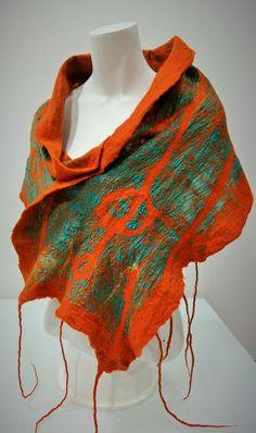 Écharpe em seda com lã merino. Flora Silva ideiasdaflora@mail.com