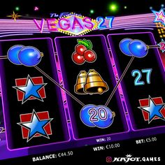 Bring the capital of entertainment to life with Vegas 27 Go! As if the usual three reels and 27 paylines are not enough, you can also double your winnings in Vegas with ease. The possible bonus games are certainly not a disadvantage! Up And Running, Online Casino, Enough Is Enough, Entertainment, Games, Life, Toys, Game