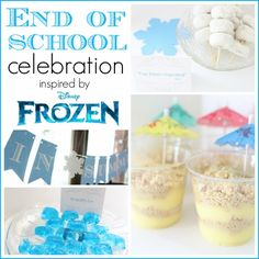 Frozen-themed end of the school year celebration!