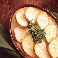 Cheesy Onion Casserole Recipe