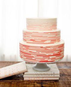 Retro Mod Cake by Nine Cakes