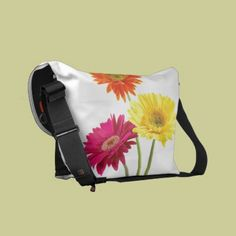 Bags That Fit It All In Style Gerbera Daisy Delight