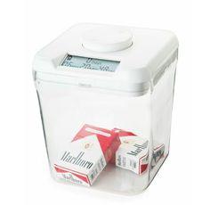 Una caja fuerte con un temporizador para ayudarte a evitar la tentación: