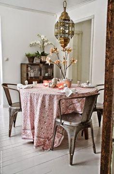 Beautiful Scandinavian house with ethnic vibes