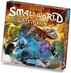 I'm on a total Smallworld binge right now, so this might well need to make its way into my life for the holidays.