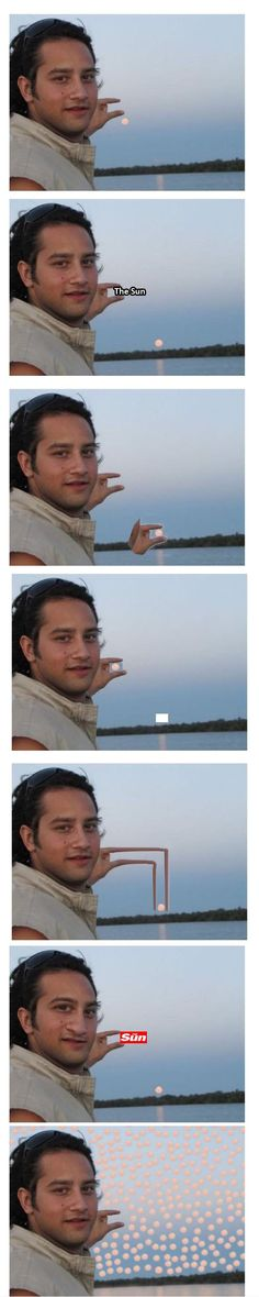 Unsuccessful photo