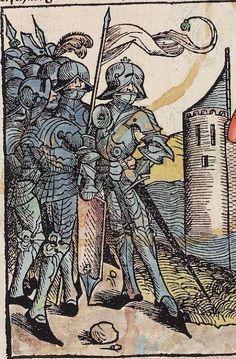 Schedel, Hartmann  ; Münzer, Hieronymus   [Hrsg.]; Pleydenwurff, Wilhelm   [Ill.]; Wolgemut, Michael   [Ill.] Liber chronicarum Nürnberg, 23. Dezember 1493 o. Cod.  Folio XXIv