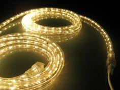 Amazon.com: 10Ft Rope Lights; Soft White LED Rope Light Kit; 1.0