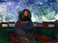 """"""" Sotto le stelle """" -  E. Munch"""