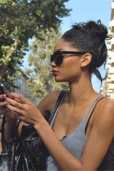 Chanel Iman - effortless