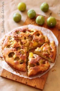 Gâteau aux prunes reines-claude