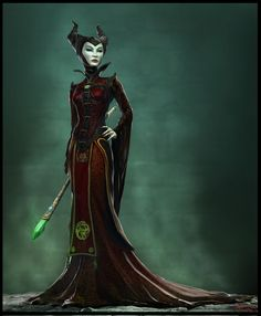 Maleficent - I AM GOING TO DO THIS COSTUME AND DO IT RIGHT!
