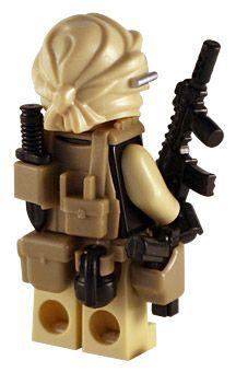 Desert Warrior - Custom Lego Minifig