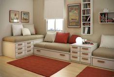 Фото: Необыкновенные кровати для больших семей и небольших пространств (Фото)