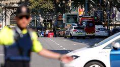 Barcelona attack: 13 killed as van rams crowds in Las Ramblas