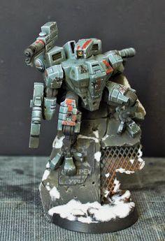 Fantasy Battle, Sci Fi Fantasy, Tau Battlesuit, Tau Army, Tau Warhammer, Tau Empire, Necron, Fantasy Miniatures, The Grim
