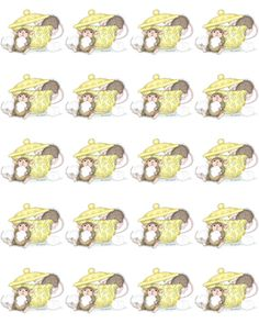 """""""1 Sheet of 20 Square Stickers"""", Stock #: SS-263, from House-Mouse Designs®. This item was recently purchased off from our web site. Click on the image to see more information."""