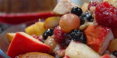 Spice Baked Fruit Salad courtesy of chef michael