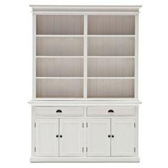 NovaSolo Halifax Mahogany Hutch/ Bookcase Unit   Overstock™ Shopping    Great Deals On Nova