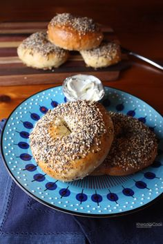 Homemade bagels. 'Nuff said.