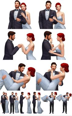 Rinvalee: Couple Poses 09 • Sims 4 Downloads