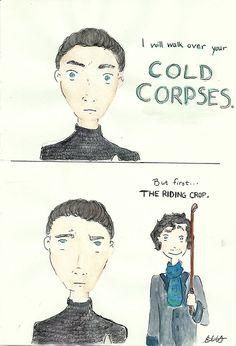 John Harrison and Sherlock walked into a bar...
