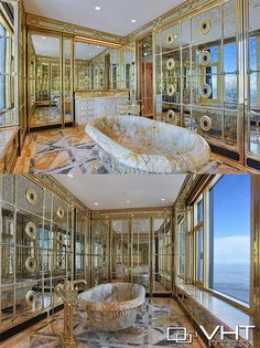 This is by far one of the most amazing bathroom in all of Chicago! Can you imagine taking a bath and enjoying that view? Virtual Tour, Amazing Bathrooms, Delaware, Chicago, Bathtub, Real Estate, Tours, Mansions, Luxury