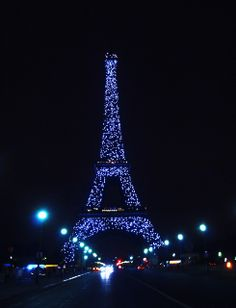 Eiffle Tower at night - You had me at hello!