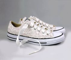 Blush Bridal Converses with Ivory Sequin Lace Converse Limited Color Wedding Te. Blush Bridal Converses with Ivory Sequin Lace Converse Limited Color Wedding Tennis shoes Wedding Converse. Converse Wedding Shoes, Wedding Sneakers, Bride Shoes, Converse Shoes, Converse Chuck, Bride Sneakers, Leather Converse, Glitter Converse, Custom Converse