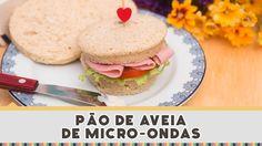 Pão de Aveia de Micro-ondas - Receitas de Minuto EXPRESS #145