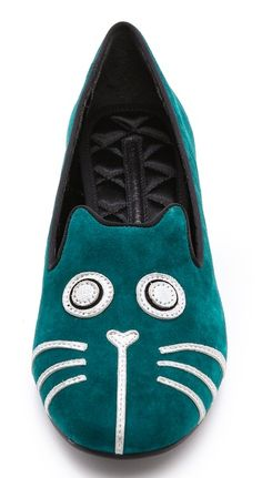Marc Jacobs Rue Cat Flat Loafers  http://rstyle.me/n/eztitpdpe
