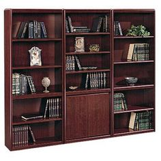 Sauder Cornerstone Wall Bookcase - Bookcases at Hayneedle