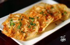 #comparte #ideas #Navidad - Tortilla de camarones crujientes