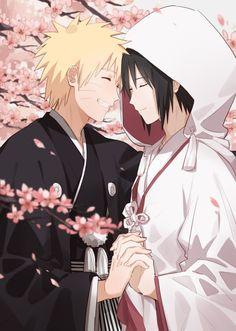 Naruto - Sasuke Uchiha x Naruto Uzumaki - SasuNaru