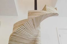 Stair of the week is a DIY spiral made out of plywood : TreeHugger