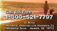 1987 - Commercial - Monty Hall for Continental American Life Insurance C...